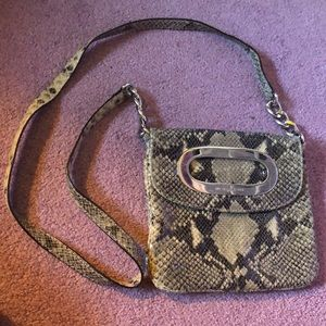 Michael Kors Snakeskin Crossbody Purse